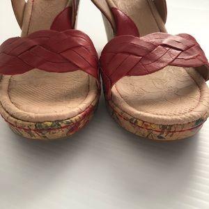boc Shoes - b.o.c. Born Concept Boise cork floral wedge sandal